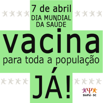 Manifestações marcam o Dia Mundial da Saúde em Santa Catarina