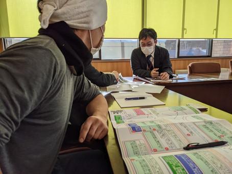 毛呂山町役場訪問
