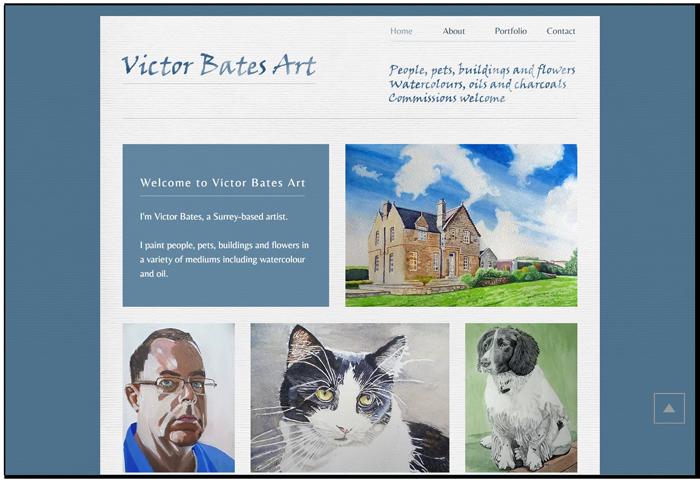 Victor Bates Art