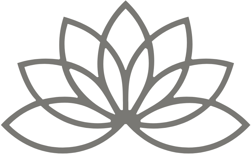 Pale lotus flower