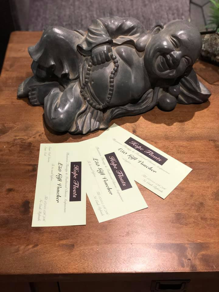 Hope Floats Berwick gift vouchers
