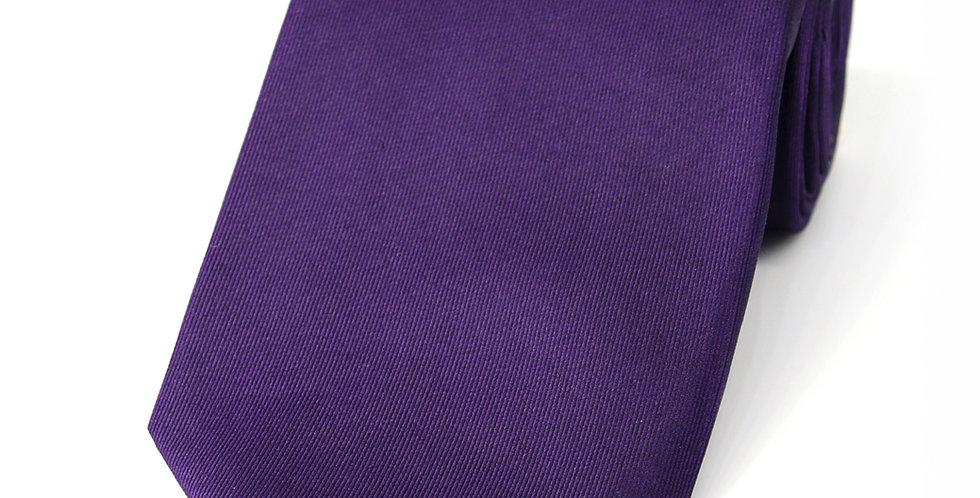 Acai Purple Plain Woven