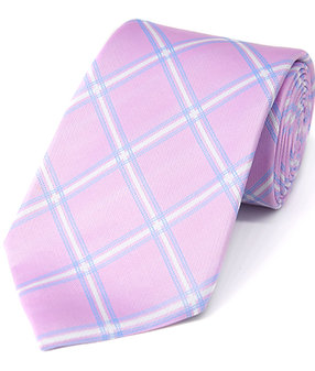 Pink Check Woven