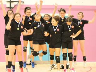 U15 Giants girls win London Grand Prix