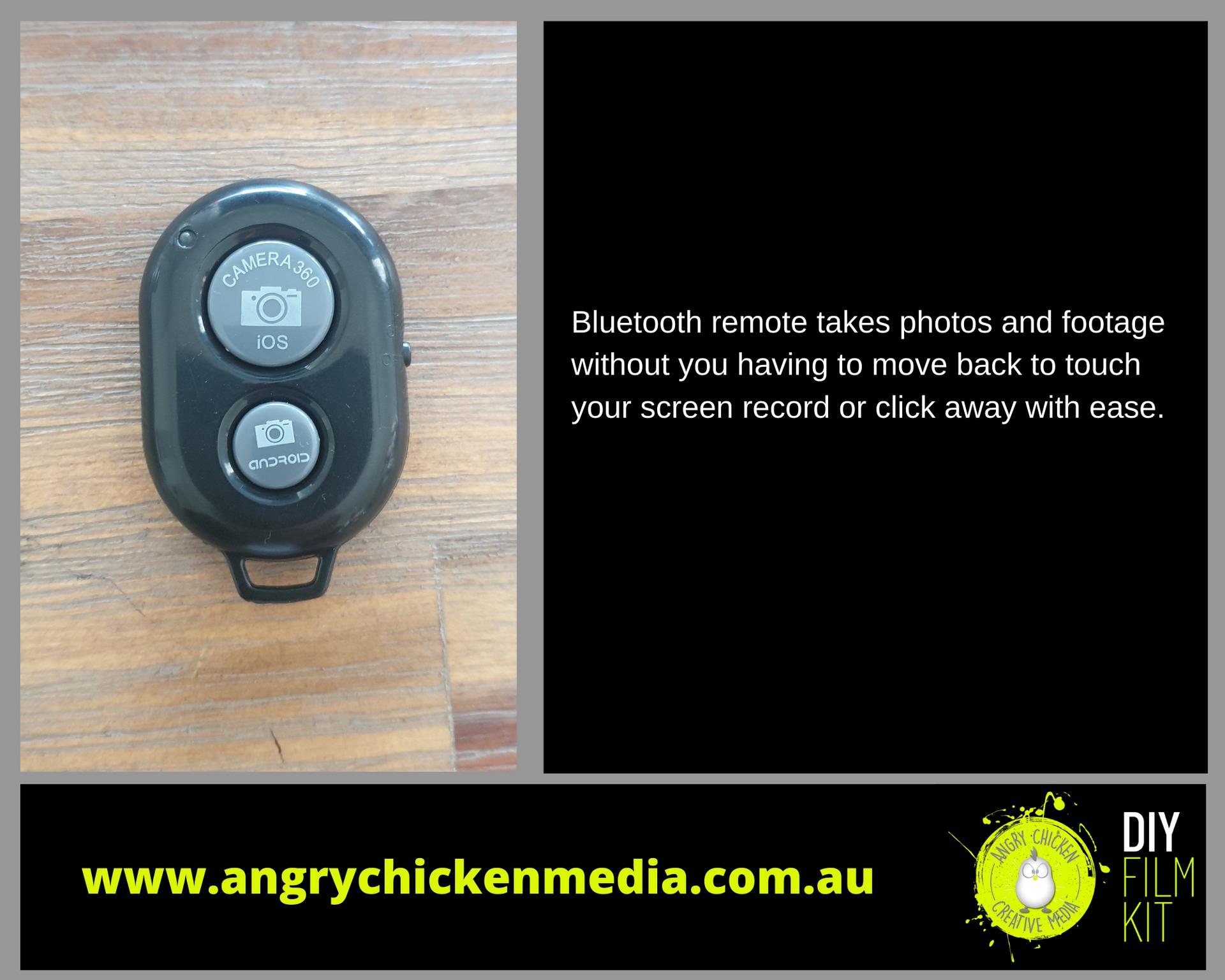 ACM DIY Film Kit bluetooth remote featur