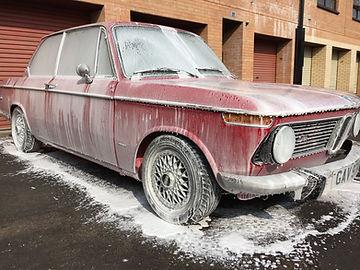Snow foam, mobile car valet