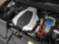 Audi V6 engine bay