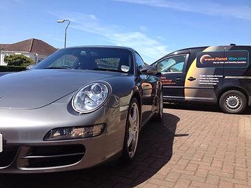 Showroom Valet, Porsche, Glasgow, Planet-Wax