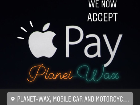 Now Accepting Credit/Debit Cards, PayPal and Apple Pay!