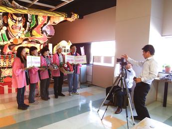 カシスの会がCMに出演(7/4放送 BS12 ダイドードリンコスペシャル日本の祭り「青森ねぶた」)