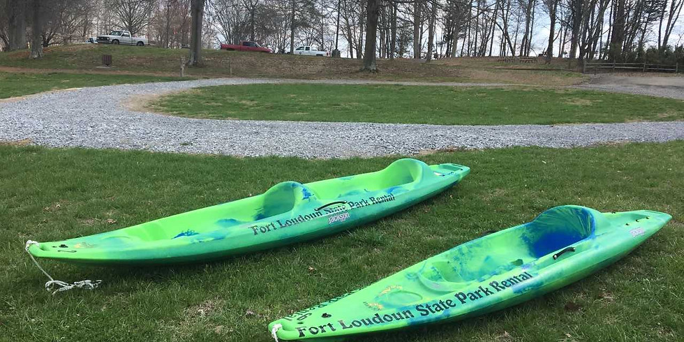 Fort Loudoun Spring Kayak Paddle