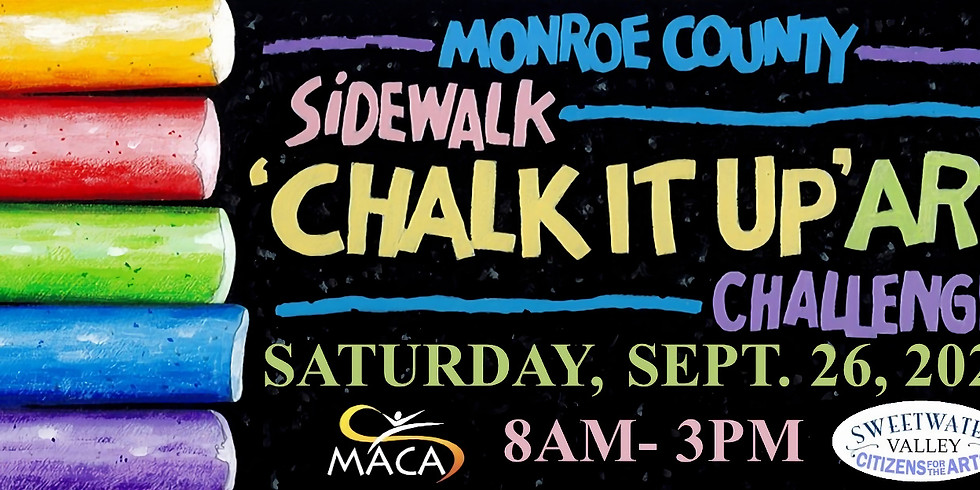 Sidewalk 'Chalk It Up' Art Challenge