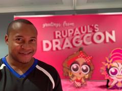 gotham cheer male cheerleader at DragCon NYC 2019