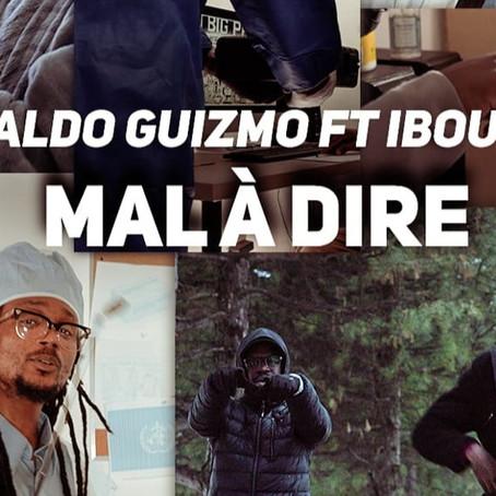 Aldo Guizmo et Ibou sur le titre Mal à dire