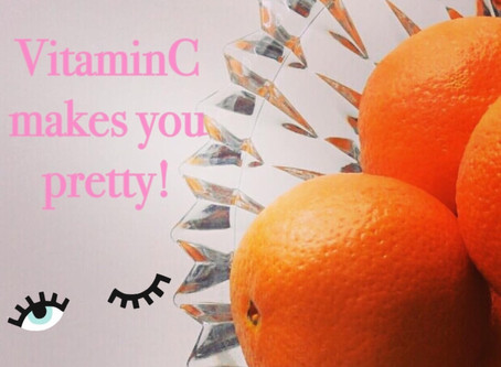 Vitamin C- it's not just for your cold anymore!