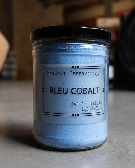Bleu cobalt effervescent
