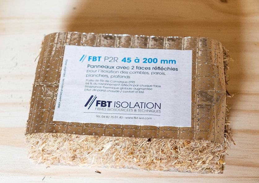Panneaux paille de riz - FBT P2R