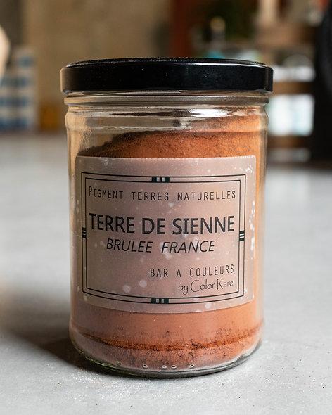 Terre de sienne brulée - France