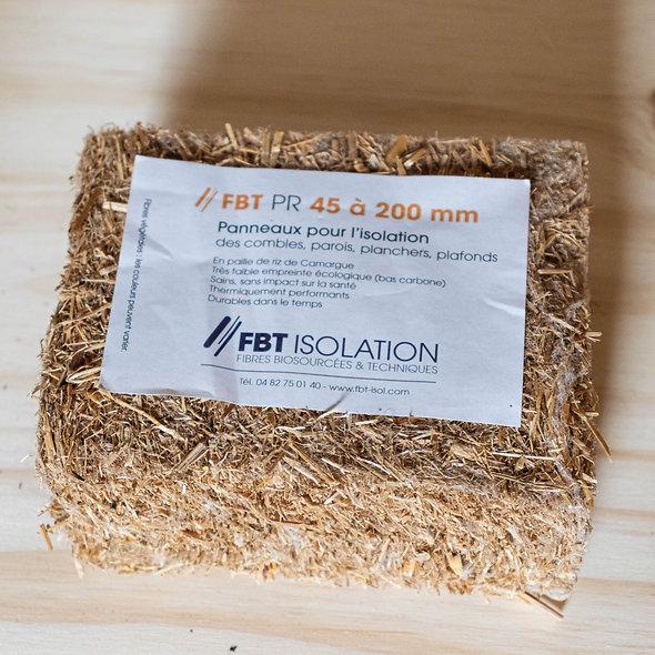 Panneaux paille de riz - FBT PR