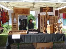 Frédéric - Bijoux & statues en bois