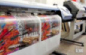 Lielformāta druka - plakāti, plakātu maketu izstrāde.