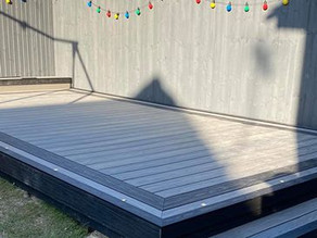 October Offer! Supply & Install Composite Decking
