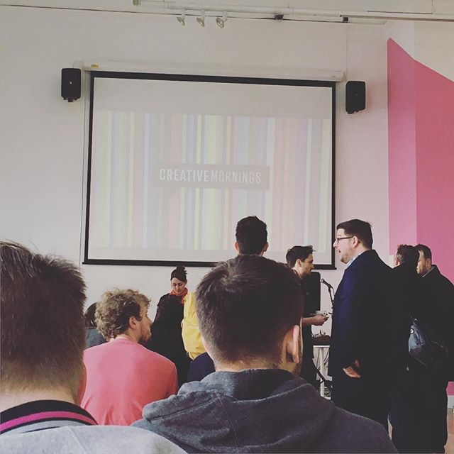 Thank you _sean_rees for the incredibly inspiring talk for _cm_cardiff All about taking #risks #desi