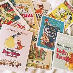 Drooling over how beautiful these mini vintage Disney cards are from _clintonsretail 😍