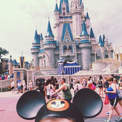 Magic Kingdom has been making magic for 45 years!! I only wish I was there right now instead of in w