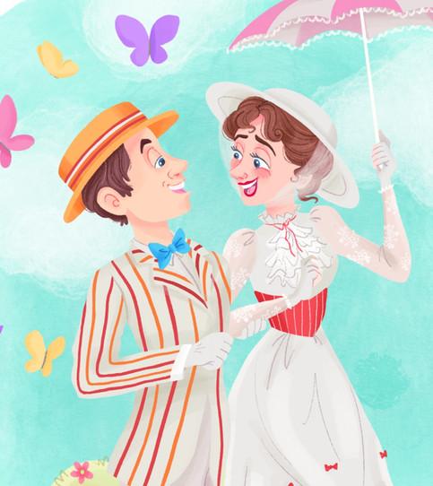 Mary Poppins Fan Art