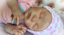 Reborn Baby Preemie Girl Alice from the Laura Lee Eagles Kit Evangeline