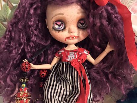 Vampire Goth Girl Winter