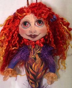 Fire Element Spirit Doll