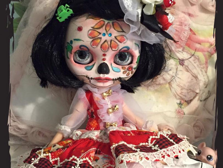 Day of the Dead Girl Rosa