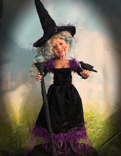OOAK Witch Doll