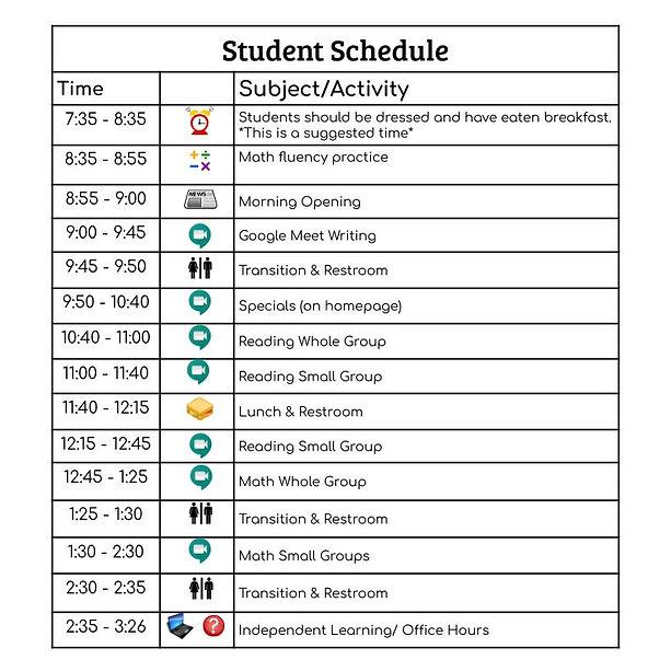 Schedule 4 & 5