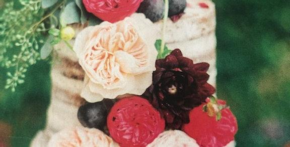 Cake Fresh Flowers