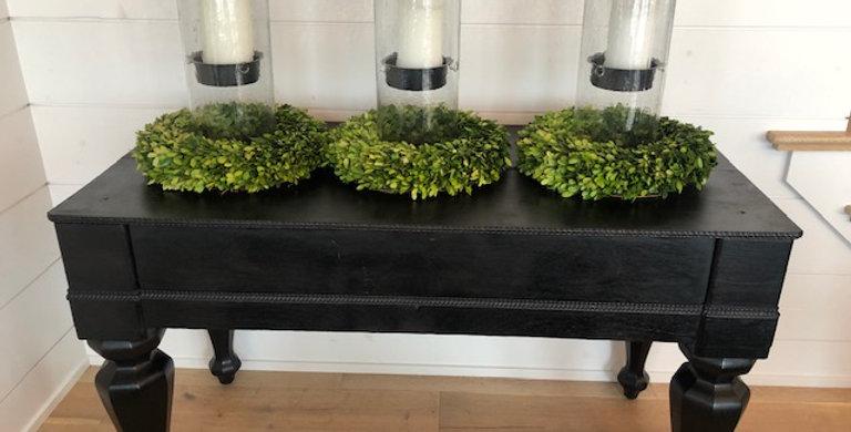 RENTAL: Black Antique Table