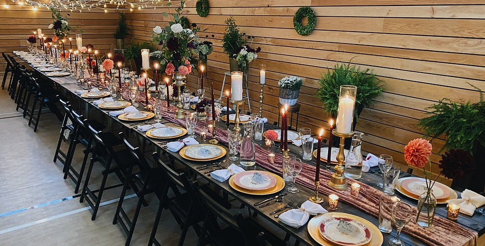 CUSTOM Table settings