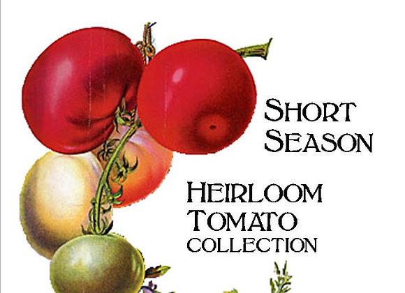 Short Season Tomato Collection