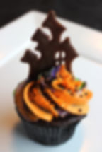 Haunted House Cupcake