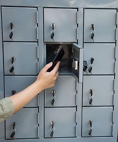 Lockers para Celulares con Cerradura