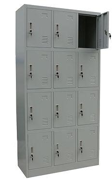 Bolsero metálico de 12 casilleros
