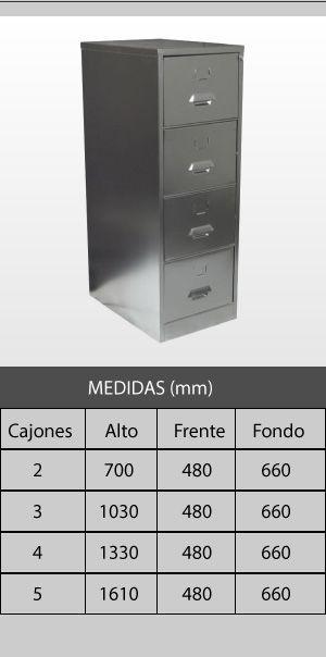 Archivo Metálico