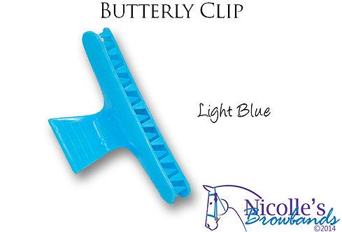 Butterfly Clip_Light Blue