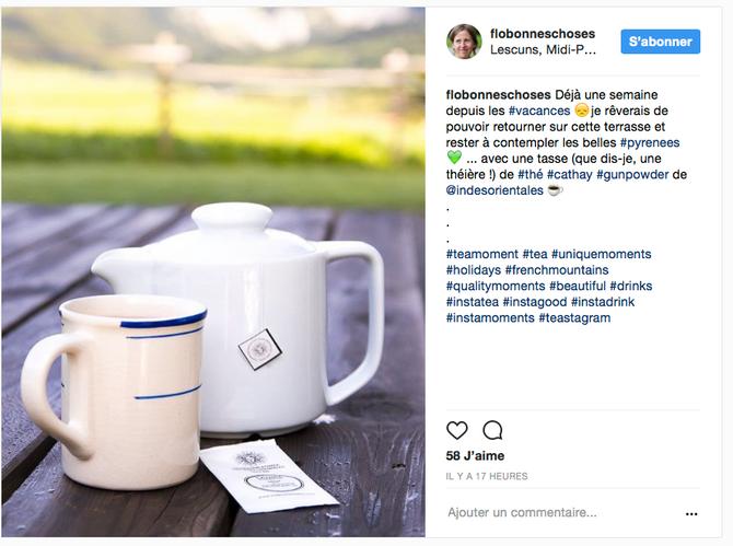 La Compagnie Royale des Indes sur l'instagram du blog Un Flo de bonnes choses