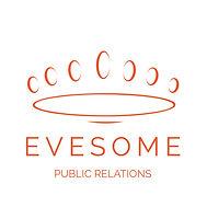 Evesome PR- Logo vector - Pantone  021C.