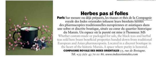 La Compagnie Royale des Indes Orientales dans Air France Magazine