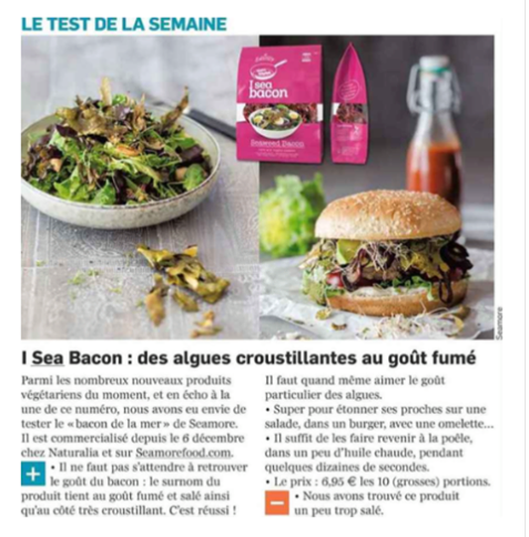 I sea bacon de Seamore dans L'Eco