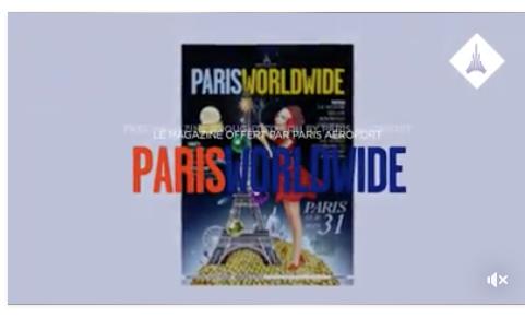 Philippe Atienza dans les Aéroports de Paris et Paris Worldwide